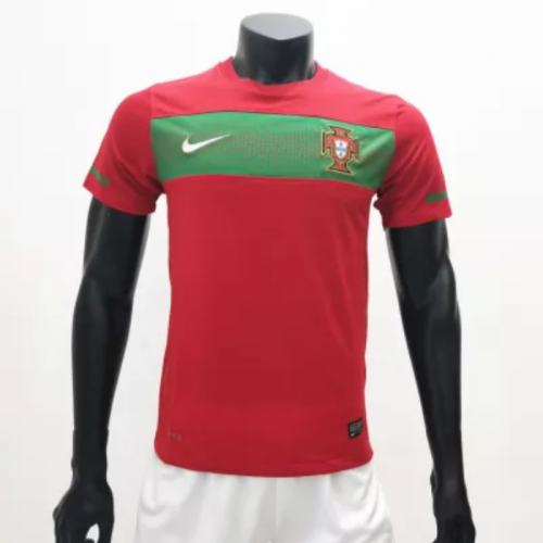 Portugal 2010/2011 Home Retro Soccer Jerseys(customizable number name)