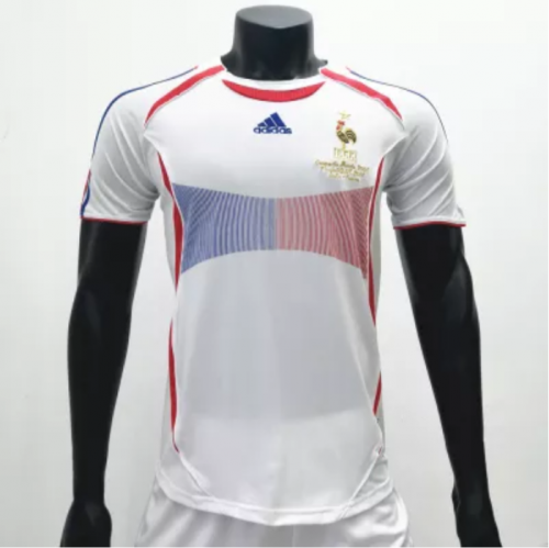 France 2006 Away Retro Soccer Jerseys(customizable number name)