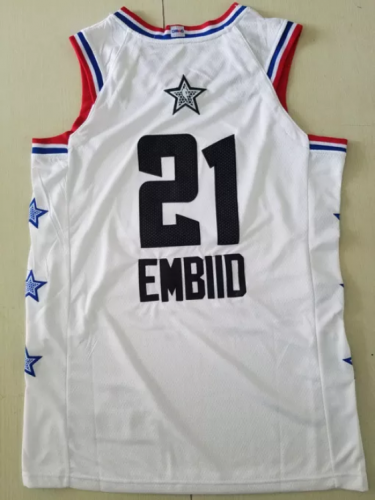 Joel Embiid 2019 All Star Basketball Jersey