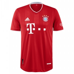 2020 2021 Bayern Munich home team player version football jersey 20/21 children's jersey
