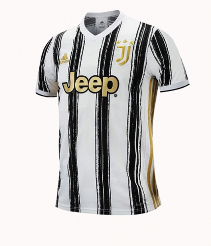 Juventus 2020/2021 home football jersey (customizable number and name)