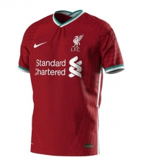 Liverpool 2020/2021 home football jersey (customizable number and name)
