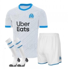 Marseille 2020/2021home kids 20 21 football jerseys football shirts