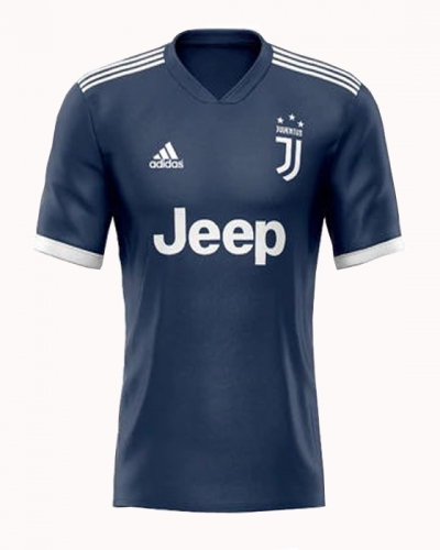 Juventus 2020/2021 away football jersey (customizable number and name)