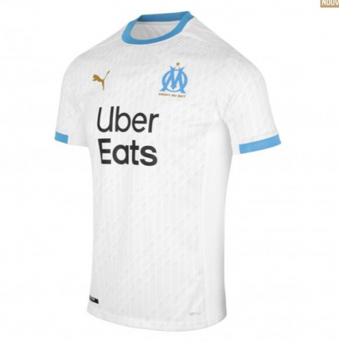 Marseille 2020/2021 home Men's Football Jersey
