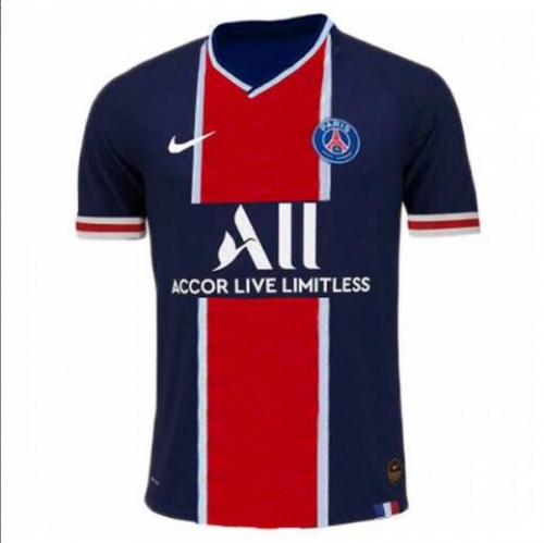 2020 2021 PSG Jordan Paris Saint-Germain home football jersey 20 21 Paris home football jersey
