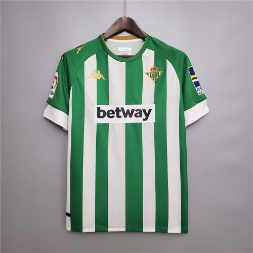 2020-21 Real Betis home jersey football jersey