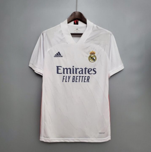 Real Madrid 2020/21 Real Madrid home jersey (number name can be customized)