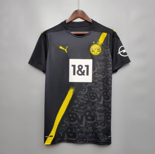 2020 2021 BVB Borussia Dortmund Away Long Sleeve 20 21 Football soccer jersey