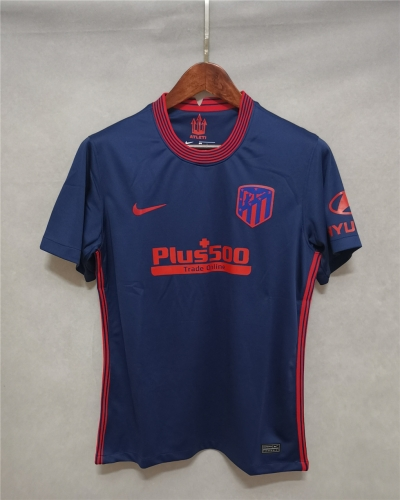 2020/21 Atletico Madrid Away football jersey (customizable number name)