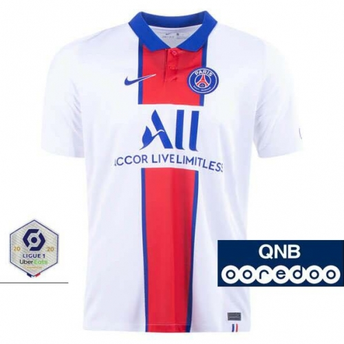 2020-2021 Paris Saint-Germain PSG MAN AWAY Soccer jersey League font