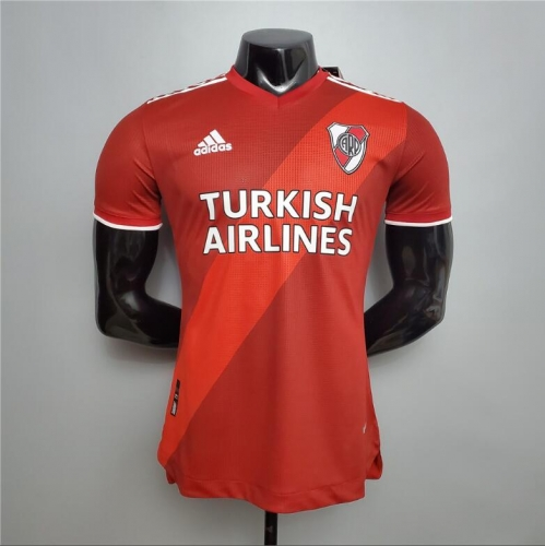 20-21 River bed player version away soccer jersey