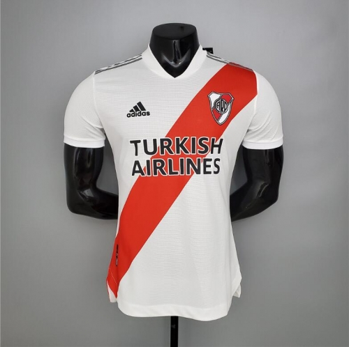 20-21 River bed player version home soccer jersey