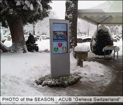 Touch kiosk, interactive kiosk