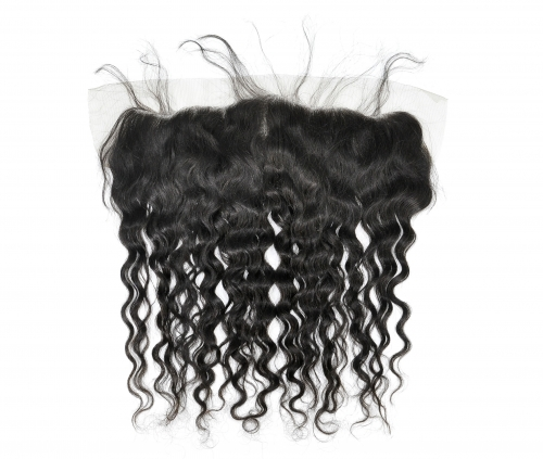 Laborhair 13*4 French weave Virgin Human Hair Lace Frontal Hair Extensions