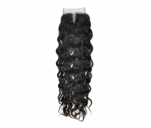 Laborhair 4*4  French wavy (natural wave) Virgin Human Hair Lace Closure