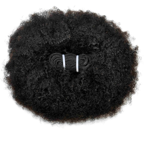 1 Bundle (100g) Afro Curly Wave Unprocessed (Pure) 10A Virgin Human Hair