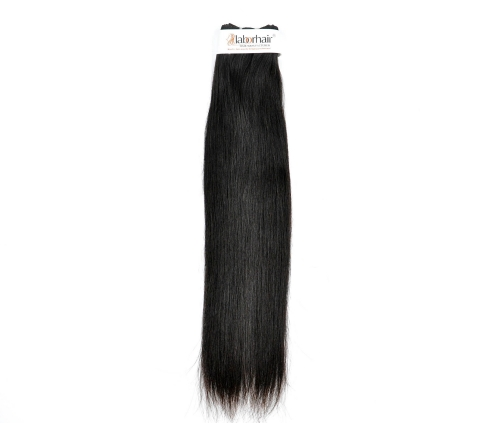 1 Bundle (100g) Straight Wave Unprocessed (Pure) 10A Virgin Human Hair
