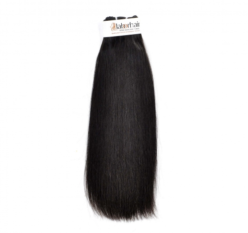 1 Bundle (100g) Grade 10A Virgin Human Hair Double Drawn Thick Straight Unprocessed (Pure)