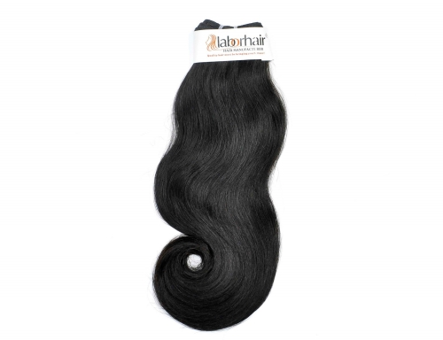 1 Bundle (100g) Virgin Human Hair Double Drawn Pony Hair Unprocessed (Pure)