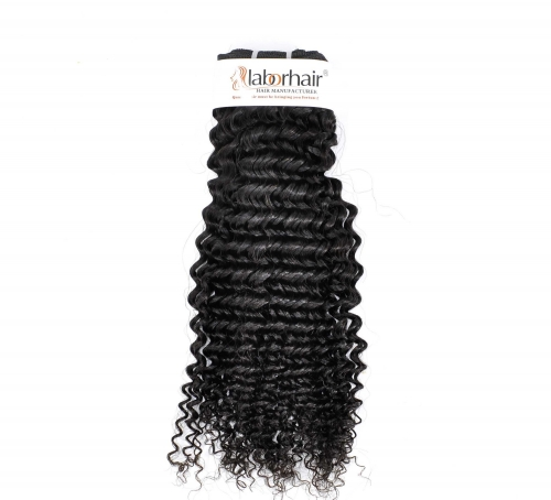 1 Bundle (100g) Kinky Curly Weave Unprocessed (Pure) 10A Virgin Human Hair