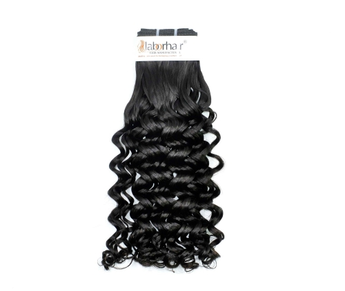 1 Bundle (100g) Virgin Human Hair Double Drawn Water Curl Hair Unprocessed (Pure)
