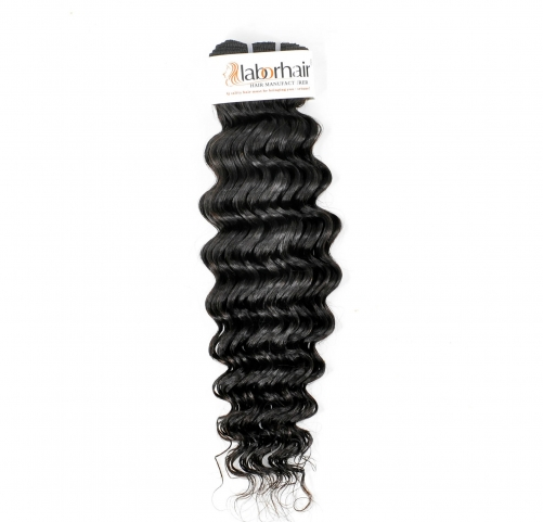 1 Bundle (100g) Deep Curly Wave Unprocessed (Pure) 10A Virgin Human Hair