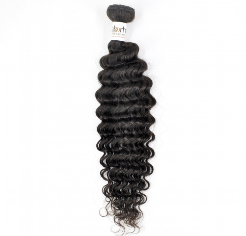 1 Bundle Laborhair 9A Virgin Human Hair Deep Curly Weave Bundles  Hair Weave Extensions