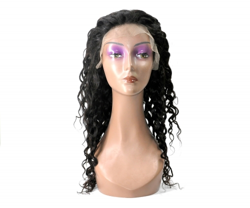Laborhair Natural Wave (Wet and Wavy) Human Hair  13×4 Lace Front Wigs Natural Color