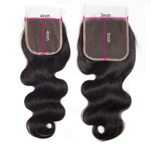 Laborhair 5x5 Body Wave Virgin Human Hair Lace Closure 150% Density