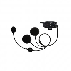 C3 BT Interphone 1000M Motorcycle Helmet Bluetooth 3.0 Hands Free Intercome Headset With Built-In FM (1 Pack)
