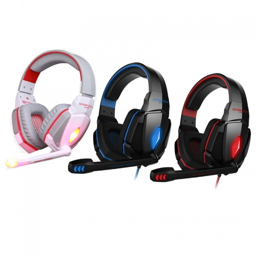 KOTION EACH G4000 Stereo Gaming Headphone Headset Earphone Headband with Mic Volume Control for PC
