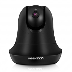 KeeKoon 1080P WiFi Wireless Security IP Camera , Plug / Play Home Surveillance Camera, Pan / Tilt With Two - Way Audio And Night Vision