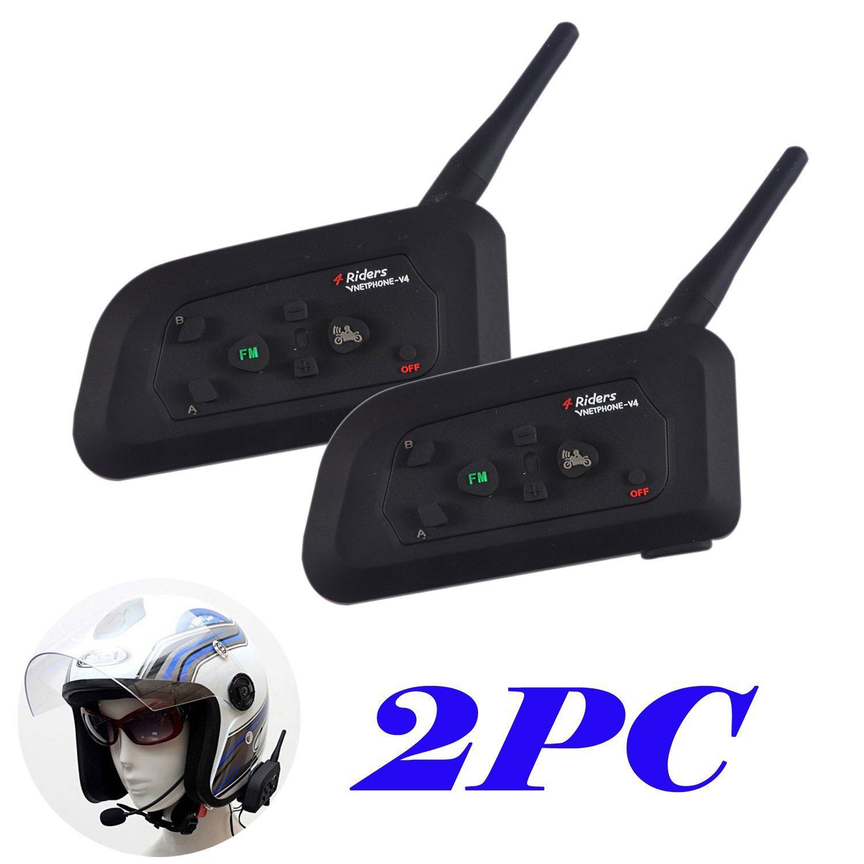 4f6b91b1ee4 2 x intercom 2 x headset 2 x charging cable 2 x helmet clip 2 x simple  screwdriver 1 x User Manual