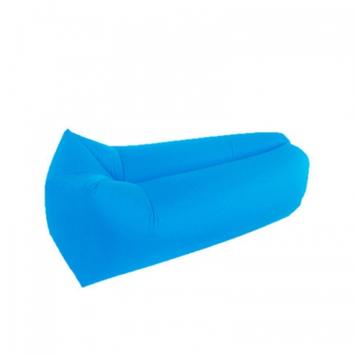 Outdoor Travel Square-Headed Lazy Sofa Fast Air Inflatable Sleeping Bed Lounger Camping Beach Lay Bag