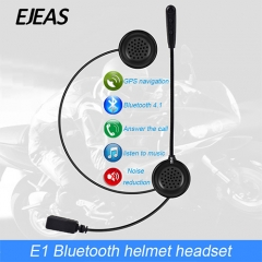 E1 Sport Incoming Call  connect 2 mobile phone  GPS line navigation  Noise reduction  Light Weight Wireless Bluetooth 4.2  Helmet Headset