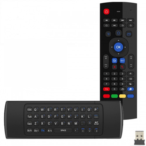 EstgoSZ T3 2.4Ghz Wireless Air Fly Mouse Keyboard With IR Remote Learning Standar Keyboard Layout For Android Smart TV Box IPTV HTPC Mini PC