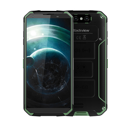 Blackview BV9500 4GB+64GB 16.0MP Dual Rear Cameras Wireless Charging  smartphone