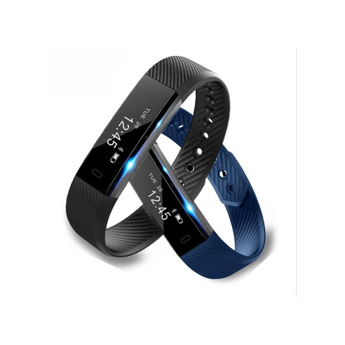 ID115 Fitness Tracker Smart Bracelet Step Counter Activity Monitor Wristband for Android IOS
