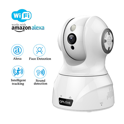 Best Indoor Wireless IP Camera,FHD 1536P  Home Security Camera,3MP WiFi Monitor Camera Support Night Vision,Motion Detection,2-Way Audio, iOS Android