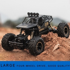 Halloween Christmas Gifts Four-wheel Drive Remote Control Car Toy Model 1:16 SUV Climbing Car Child Remote Control