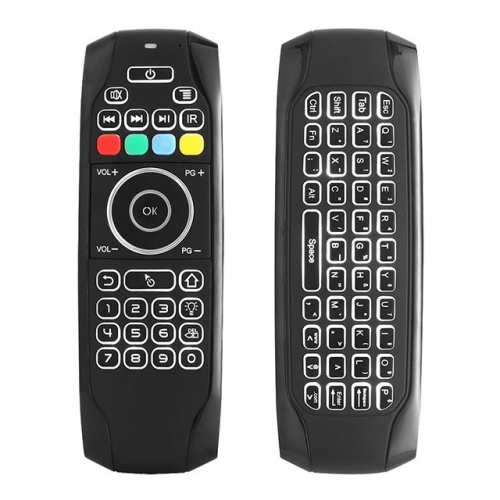 G7 Backlight Fly Air Mouse 2.4G Wireless Keyboard Remote Control For Smart TV/Android TV Box/Xbox/Laptop/Projector