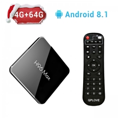 H96 Max X2 Android 8.1 S905X2 4GB DDR4 RAM 64GB ROM 4K 5G WiFi USB3.0 TV BOX