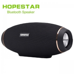EStgoSZ HOPESTAR H20 Wireless portable Bluetooth 4.2 Speaker Waterproof Outdoor Bass Effect with Power Bank USB AUX Mobile