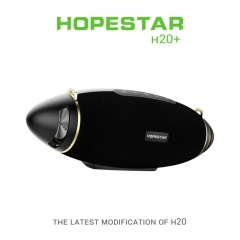 HOPESTAR H20+ Bluetooth 4.2 Speaker Wireless Portable Column Waterproof Mega Bass Outdoor Subwoofer TF USB for charge