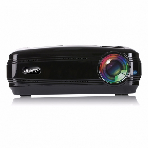 Uhappy U58 LED Projector 3500 Lumen Video Built-in WIFI Bluetooth Support 4K School Proector Full HD 1080P LED TV