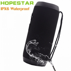 HOPESTAR P7 Bluetooth Speaker Wireless WaterProof IPX6 Column Box Bass Mini Subwoofer Portable With TF Card USB FM Mic