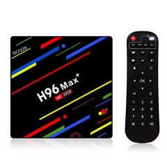 H96 Max Plus Android 8.1 4G+32G RK3328 USB3.0 Wifi2.4G Voice Control TV Box