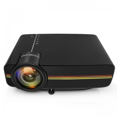 YG400 up YG410 Mini Projector Wired Sync Display More stable than WIFI Beamer For Home Theatre Movie AC3 HDMI VGA USB
