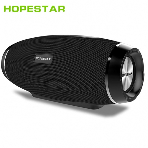 HOPESTAR H27 Rugby Wireless bluetooth speaker stereo soundbar waterproof shower Subwoofer MP3